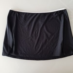 🕶Michael Kors Black Swim Skirt CU sz 8 🕶